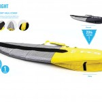 Flight 1 Board yellow charcoal