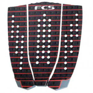 FCS Athlete Series Hipwood Black/Fire Engine Red