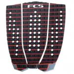 FCS Athlete Series Hipwood Black/Fire Engine Red